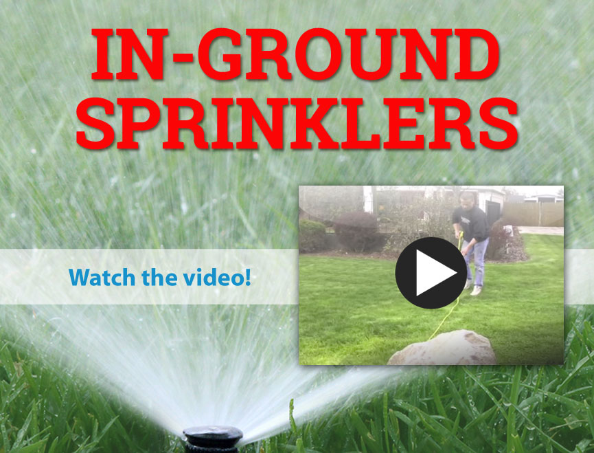 In-ground Sprinklers. Do It Yourself, and Save!