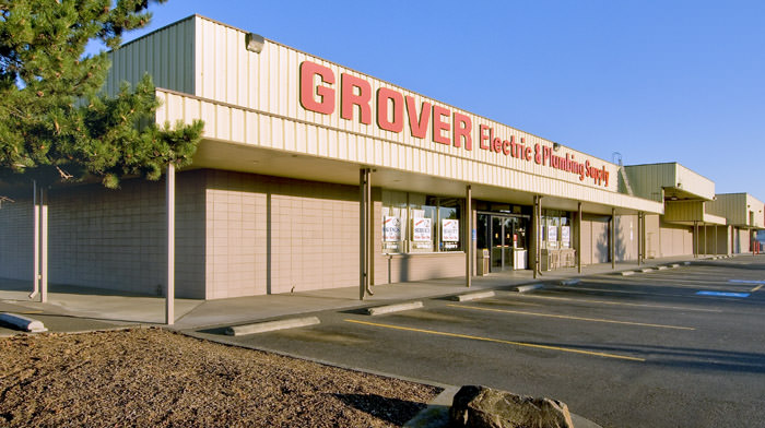 Exterior of Grover building