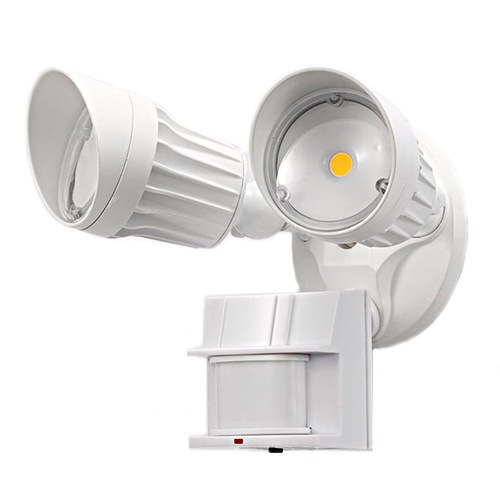 LED Double Flood Light with motion sensor